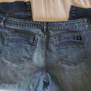 Vera Wang simply vera size 14P capri jeans
